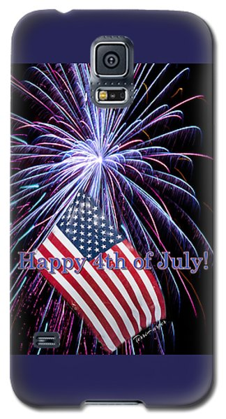 Happy Fourth Of July Galaxy S5 Case