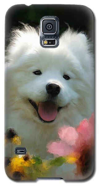 Happy Gal In The Garden Galaxy S5 Case