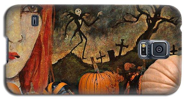 Happy Halloween Galaxy S5 Case by Jeff Burgess