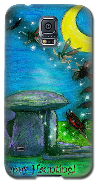 Happy Haunting Galaxy S5 Case by Diana Haronis