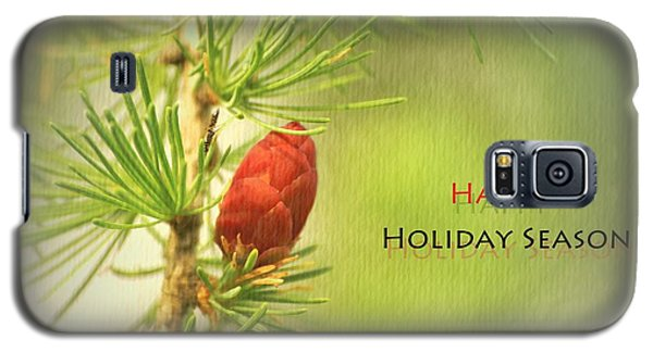 Galaxy S5 Case featuring the photograph Happy Holiday Season Card by Aimelle