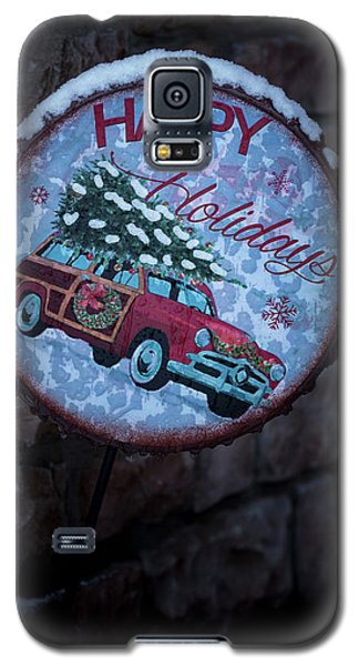 Happy Holidays Galaxy S5 Case