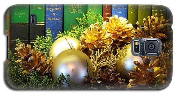 Happy Holidays Books Galaxy S5 Case