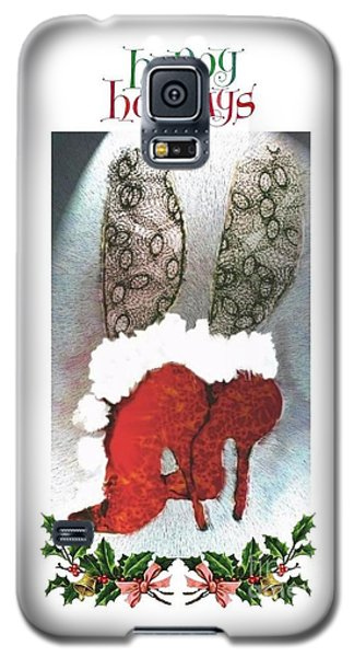 Happy Holidays - Christmas Card Galaxy S5 Case
