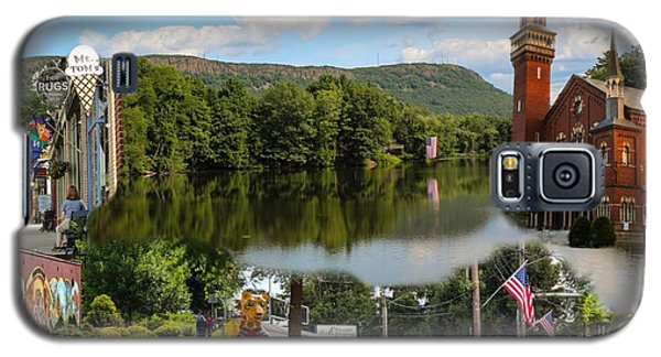 Happy In Easthampton Collage Galaxy S5 Case