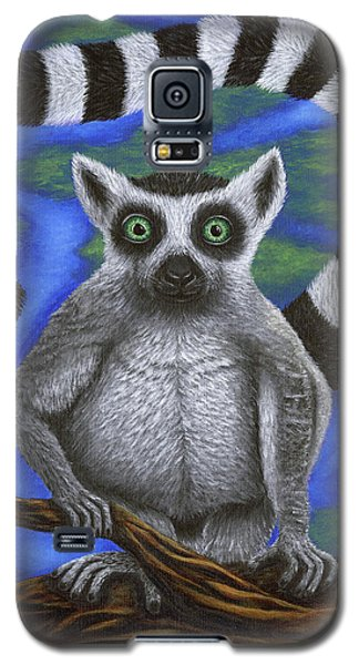 Happy Lemur Galaxy S5 Case