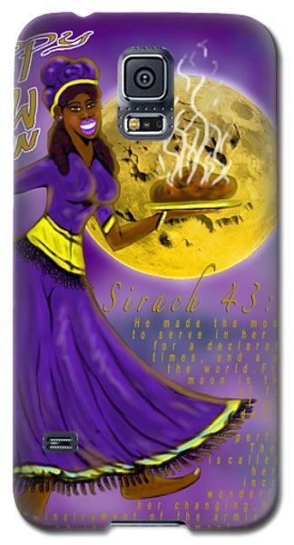 Happy New Moon Sirach 43 Galaxy S5 Case