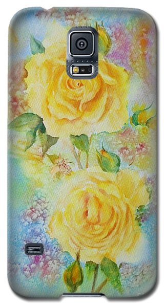 Happy Roses Galaxy S5 Case by Beatrice Cloake