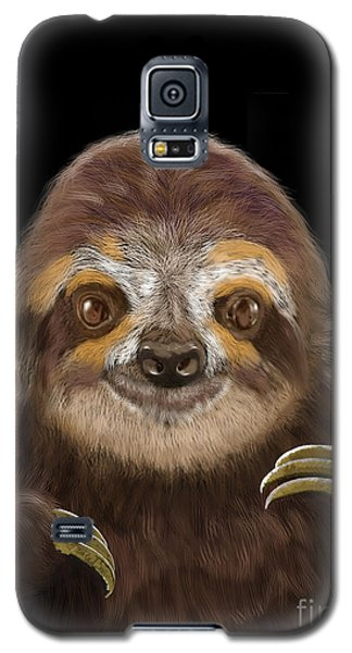 Happy Three Toe Sloth Galaxy S5 Case