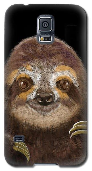 Happy Three Toe Sloth Galaxy S5 Case