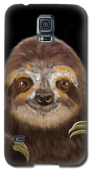 Happy Sloth Galaxy S5 Case by Thomas J Herring