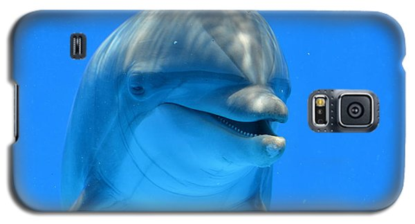 Happy Smiling Dolphin Galaxy S5 Case