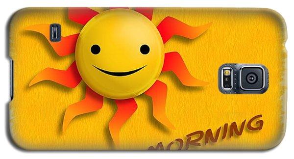 Happy Sun Face Galaxy S5 Case