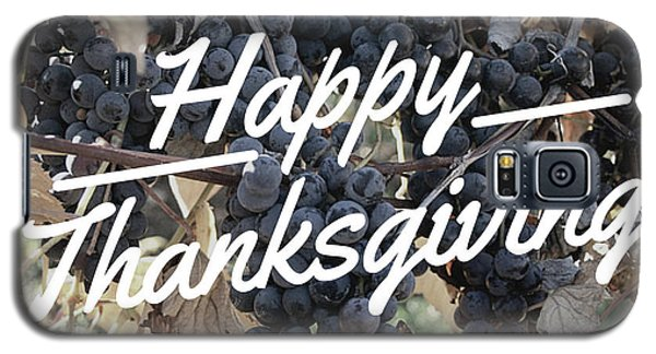 Happy Thanksgiving Galaxy S5 Case
