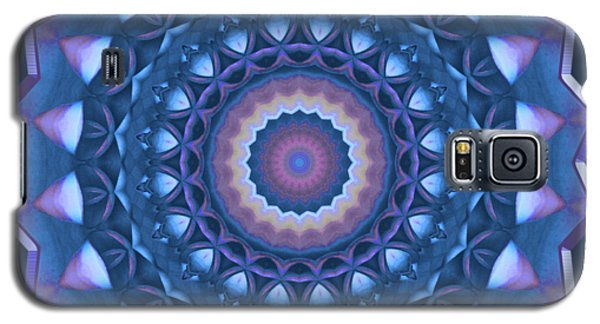 Happy To Be Blue Galaxy S5 Case