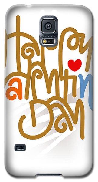 Happy Valentine's Day Poster Galaxy S5 Case
