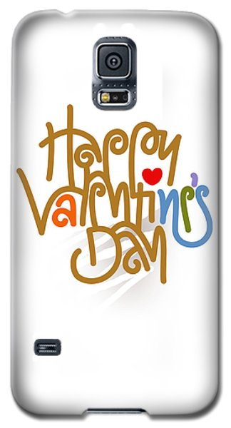 Happy Valentine's Day Poster Galaxy S5 Case