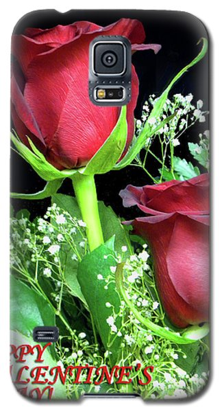 Galaxy S5 Case featuring the photograph Happy Valentines Day by Sandi OReilly