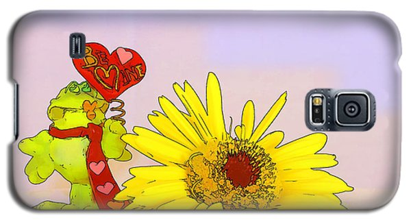 Galaxy S5 Case featuring the photograph Happy Valentine's Day by Teresa Zieba
