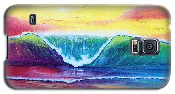 Happy Wave Galaxy S5 Case