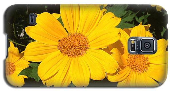 Happy Yellow Galaxy S5 Case