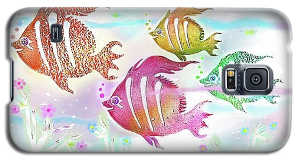 Galaxy S5 Case featuring the digital art Happiness Is A Clean Ocean  by Hartmut Jager