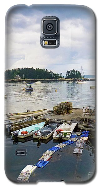 Harbor At Georgetown Five Islands, Georgetown, Maine #60550 Galaxy S5 Case