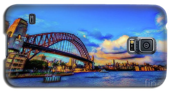 Galaxy S5 Case featuring the photograph Harbor Bridge by Perry Webster