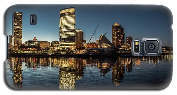 Galaxy S5 Case featuring the photograph Harbor House View by Randy Scherkenbach