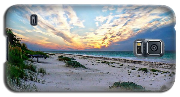 Harbor Island Sunset Galaxy S5 Case