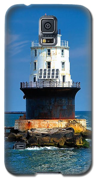 Harbor Of Refuge Lighthouse Galaxy S5 Case