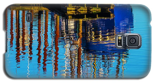 Harbor Reflections Galaxy S5 Case by Garry Gay