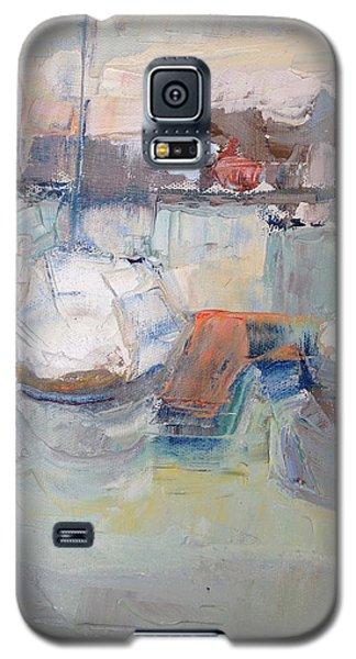 Harbor Sailboats Galaxy S5 Case