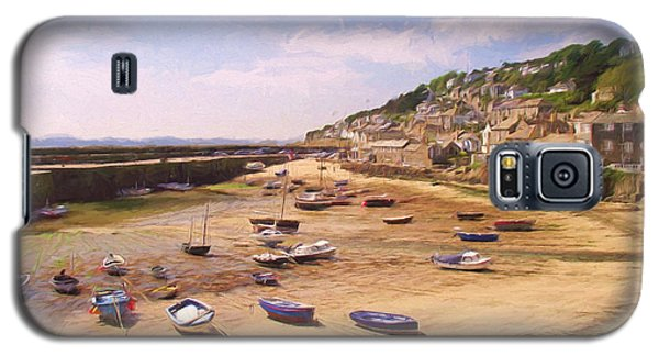 Harbour At Low Tide - Mousehole Galaxy S5 Case