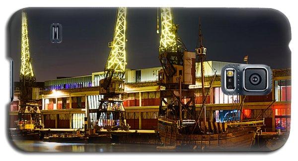 Harbour Cranes Galaxy S5 Case