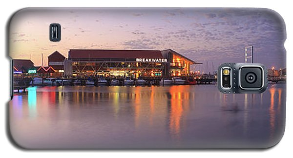 Harbour Lights, Hillarys Boat Harbour Galaxy S5 Case by Dave Catley
