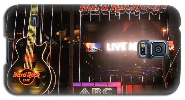 Hard Rock Cafe Las Vegas Strip At Night Galaxy S5 Case by RicardMN Photography