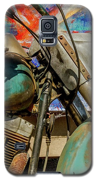 Galaxy S5 Case featuring the photograph Harley Davidson - American Icon II by Bill Gallagher