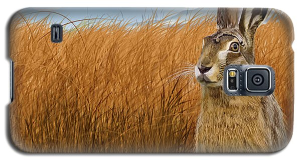 Hare In Grasslands Galaxy S5 Case