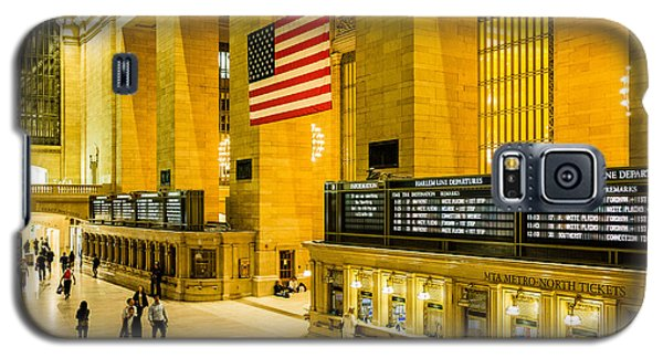 Galaxy S5 Case featuring the photograph Grand Central Pride by M G Whittingham