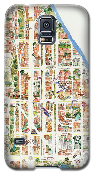 Harlem From 110-155th Streets Galaxy S5 Case by Afinelyne