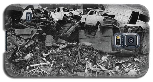 Harlem River Junkyard, 1967 Galaxy S5 Case