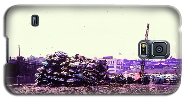 Harlem River Junkyard Galaxy S5 Case by Cole Thompson