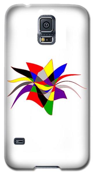 Harlequin Flower Galaxy S5 Case