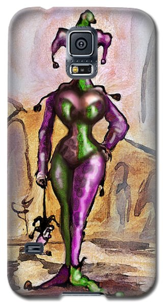Harlequin Galaxy S5 Case