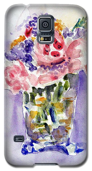 Harlequin Or Bright Side Of Life Galaxy S5 Case by Jasna Dragun