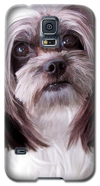 Galaxy S5 Case featuring the photograph Harley by Cherie Duran