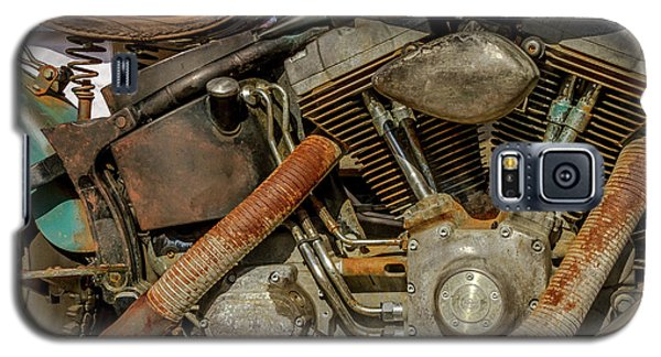 Galaxy S5 Case featuring the photograph Harley Davidson - An American Icon by Bill Gallagher