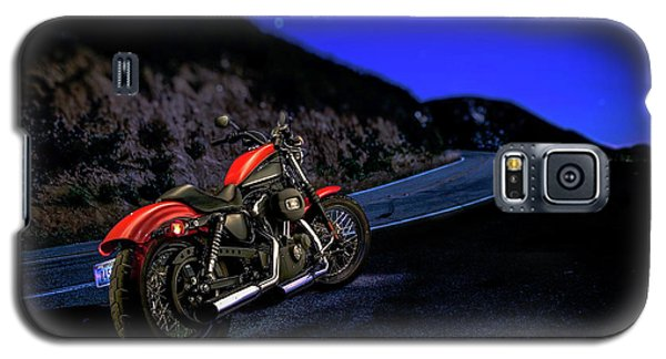 Galaxy S5 Case featuring the photograph Harley Davidson Nightster by YoPedro
