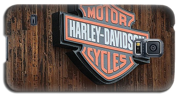 Harley Davidson Sign In West Jordan Utah Photograph Galaxy S5 Case